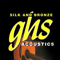 GHS SILK AND BRONZE Guitar Strings Medium Light (370ML)