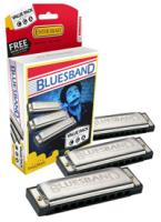 Hohner Bluesband Harmonica Value Pack w/Case (3P1501BX)