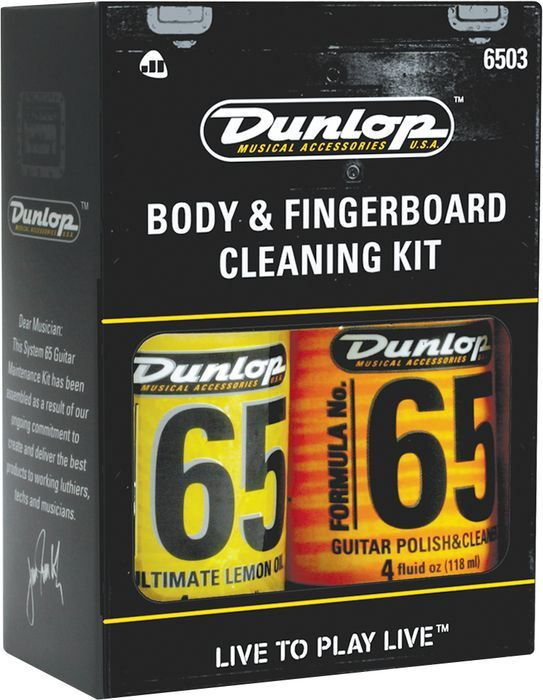 Dunlop Body & Fingerboard Cleaning Kit (6503)