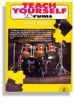 Teach Yourself Drums by Seth Goldberg (80065)