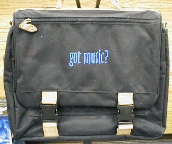 Got Music? Briefcase (8202)