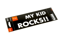 "Fender™ ""My Kid Rocks"" Bumper Sticker (9100330806)"