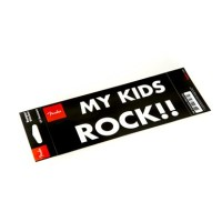 "Fender™ ""My Kids Rock"" Bumper Sticker (9100331506)"