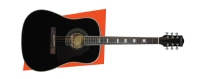 Silvertone 995 Solid Spruce Dreadnought Acoustic Guitar (955BK)