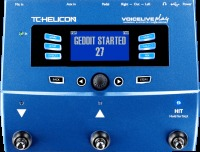 TC Helicon VOICELIVE Play 3-Button Vocal Effects Stompbox with Looping (996356005)