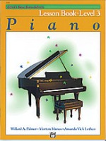 Alfred's Basic Piano Library Book 3 (ABPL3)