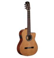 Alvarez AC65CE Classic Acoustic/Electric, Natural Finish (AC65CE)