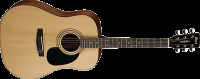 Cort AD810 Left Handed Dreadnought Guitar - Open Pore Finish (AD810LHOP)
