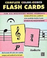 89 Complete Color-Coded Flash Cards (ALF12061)