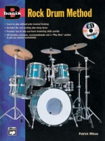 Basix®: Rock Drum Method Book w/ CD (ALF16766)
