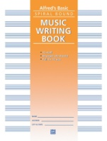 "Alfred 12 Stave Music Writing Book (9"" x 12"") (ALF179)"