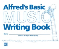 "Alfred's Basic Music Writing Book (8"" x 6"") (ALF200)"