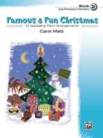 Famous & Fun Christmas, Book 2 12 Appealing Piano Arrangements (ALF22170)