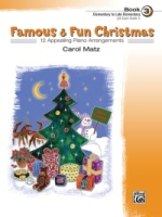 Famous & Fun Christmas, Book 3 12 Appealing Piano Arrangements (ALF22171)