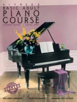 Alfred's Basic Adult Piano Course: Lesson Book 1 Book Only (ALF2236)