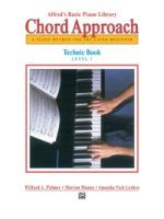 Alfred's Basic Piano: Chord Approach Technic Book 1 A Piano Method for the Later Beginner (ALF2654)