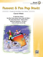 Famous & Fun Pop Duets, Book 1 7 Duets for One Piano, Four Hands (ALF27705)