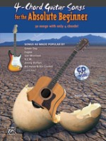 4-Chord Songs for the Absolute Beginner By Susan Mazer (ALF30265)