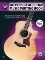 Alfred's Basic Guitar Music Writing Book (ALF35042)