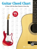 Guitar Chord Chart A Chart of All the Basic Chords in Every Key (ALF44023)