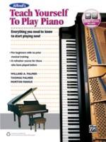 Alfred's Alfred's Teach Yourself to Play Piano w/ Online Audio (ALF45044)