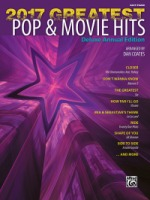2017 Greatest Pop & Movie Hits Deluxe Annual Edition Arr. Dan Coates (ALF46094)