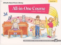Alfred's Basic All-in-One Course, Book 1 (ALF5740)