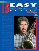 15 Easy Jazz, Blues & Funk Etudes with CD By Bob Mintzer (ALFELM00030CD)