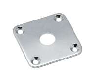 All Parts Chrome Metal Jackplate LP Style (AP0633010)