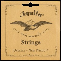 Aquila New Nylgut AQ-7 Concert Ukulele Strings - High G (AQ7)