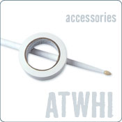 Pro Mark Ameritape White Stick Wrapping Tape (ATWH1)
