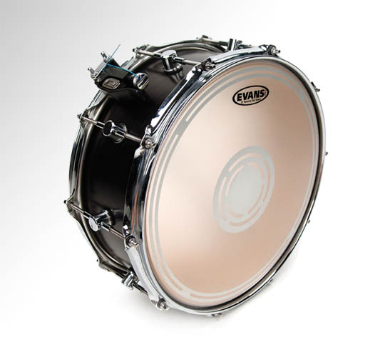 "Evans EC2 Reverse Dot Coated Snare Drum Batter Head, 14"" (B14ECSRD)"