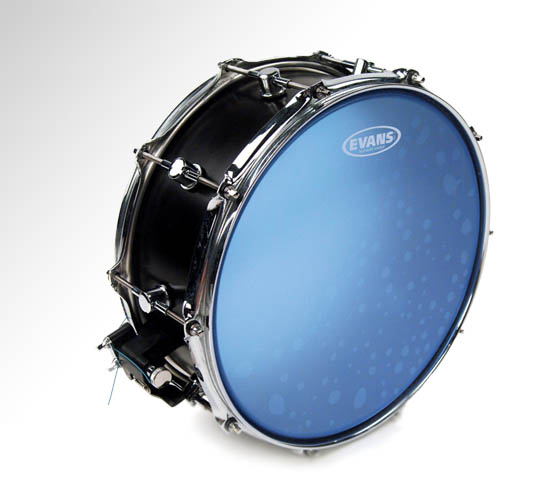 "Evans Blue Coated Hydraulic Snare Drum Head, 14"" (B14HB)"