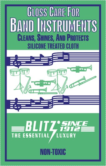Blitz Band Instrument Polish Cloth (B306)
