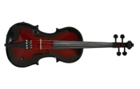 Barcus Berry Vibrato AE 4/4 Violin Outfit - Red Burst (BARAEVR)