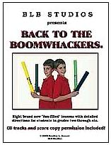 Back To Boomwhackers Book & CD Set (BB201D)