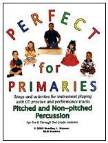 Perfect For Primaries Boomwhackers Book & CD Set (BB207D)