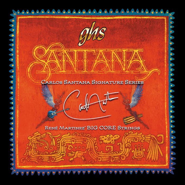 GHS Santana Signature Big Core Electric Strings (BCGHS)