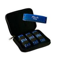 Hohner Blue Ice Harmonica 3 Pack with Zippered Carrying Case (BIP)