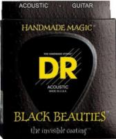 DR BKA-12 Black K3 Coated Acoustic 12-54 (BKA12)