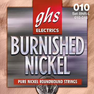GHS Brunished Pure Nickel Roundwound Strings 11 – 50 (BNRM)