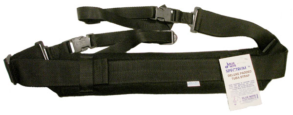 Blue Note Padded Tuba Strap - Black (BNTSBK)