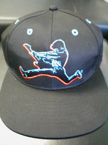 Jumping Guitar Player Ballcap (CID-1415)