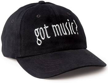 Got Music? Ballcap (CID-1422)