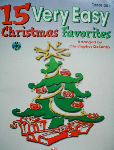 15 Very Easy Christmas Favorites Book With CD Accompaniment (CID-15VECF)