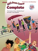 Kids Drum Course Complete Book & CDs Elementary - Late Elementar (CID-27919)