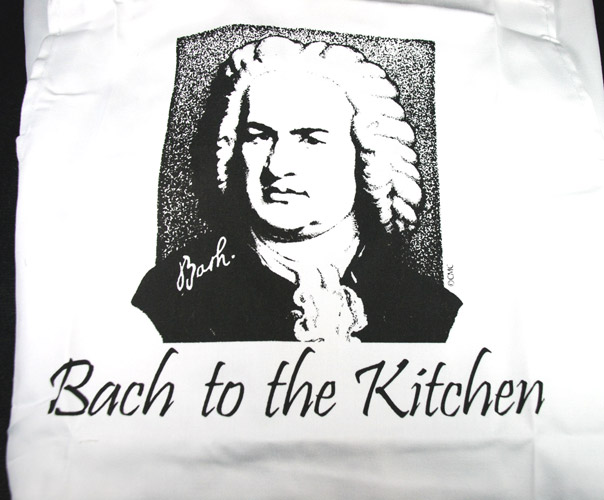 Kitchen Towel - Bach To The Kitchen (CID-3051)