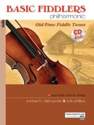 Basic Fiddlers Philharmonic, Easy Fiddle Tunes for Strings Book (CID-BFPBCD)