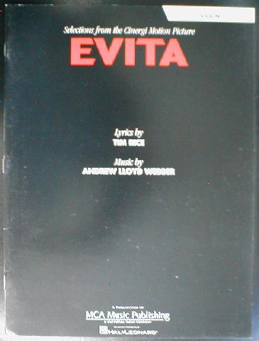 Evita Selections From The Motion Picture Instrumental Solo (CID-EISO)