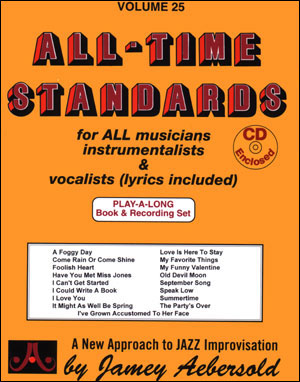 All-Time Standards Book & 2 CD Set For All Instruments with Lyri (CID-JAV25DS)